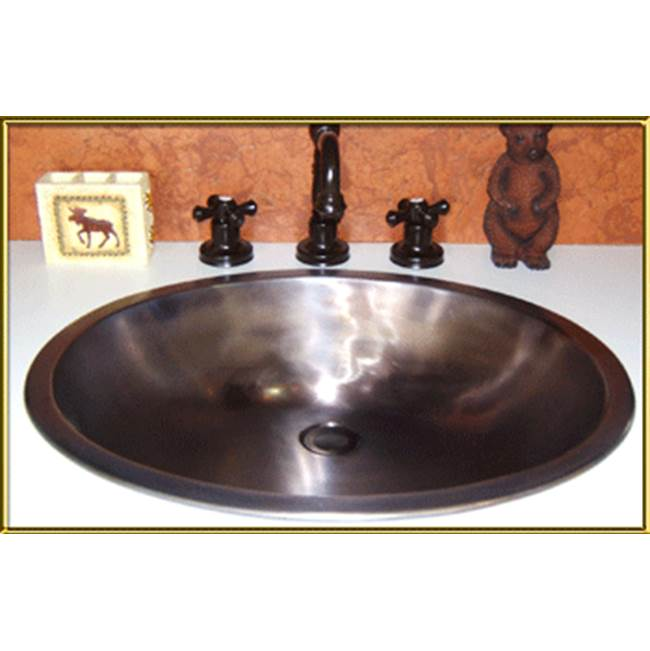 Bronze Umber Standard Plumbing Supply Style Stationary Square Top Drain with Overflow Holes Jaclo 837-BU P.O
